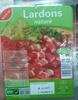 Lardons nature - Produit