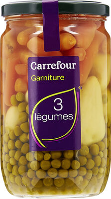 Garniture 3 légumes Carrefour - Produit - fr