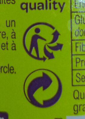 Garniture 3 légumes Carrefour - Instruction de recyclage et/ou informations d'emballage - fr