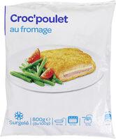 Croc'poulet au fromage - Produit - fr