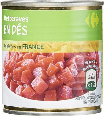 Betteraves  En dés - Produit - fr