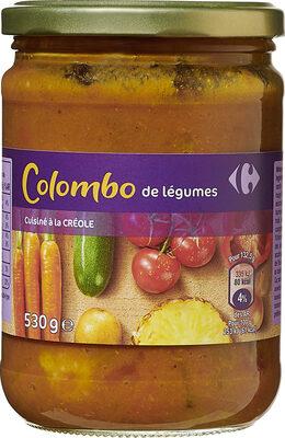 Colombe de légumes cuisinés à la créole - Prodotto - fr