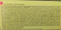 Mini paniers Les Aperitifs - Ingredients - fr