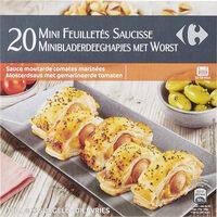 20 Mini feuilletés saucisse - Product - fr