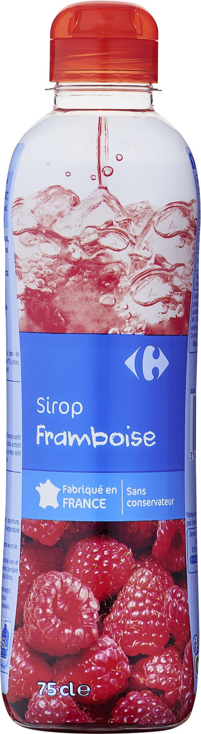 Sirop Framboise - Prodotto - fr