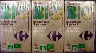 Boisson soja Saveur vanille - Produit