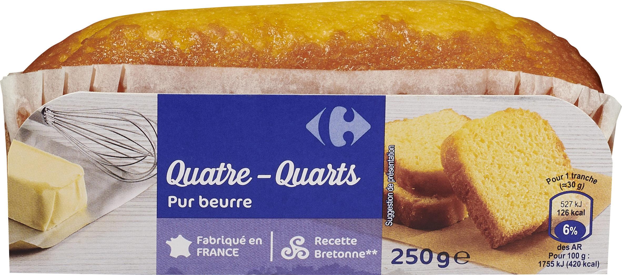 Quatre-Quarts Pur beurre - Product