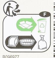 Quatre-Quarts Pur beurre - Instruction de recyclage et/ou informations d'emballage - fr