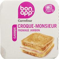 Croque Monsieur Jambon Fomage - Product - fr