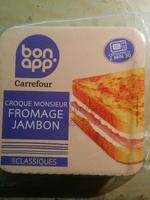 Croque Monsieur Jambon Fomage - Produit - fr