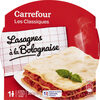 Lasagnes à la Bolognaise - Prodotto