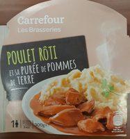 Poulet rôti et sa purée de pomme de terre - Produit - fr