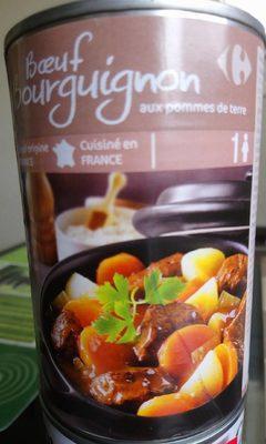 Boeuf bourguignon aux pommes de terre - Produit