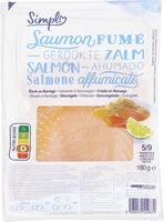 Saumon fumé décongelé élevé en Norvège - Produit - fr