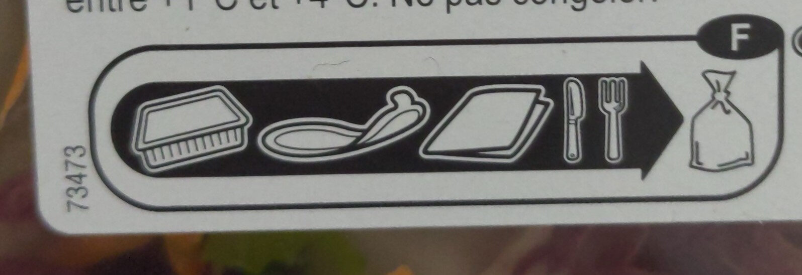 Torsades aux 3 fromages - Recycling instructions and/or packaging information - fr