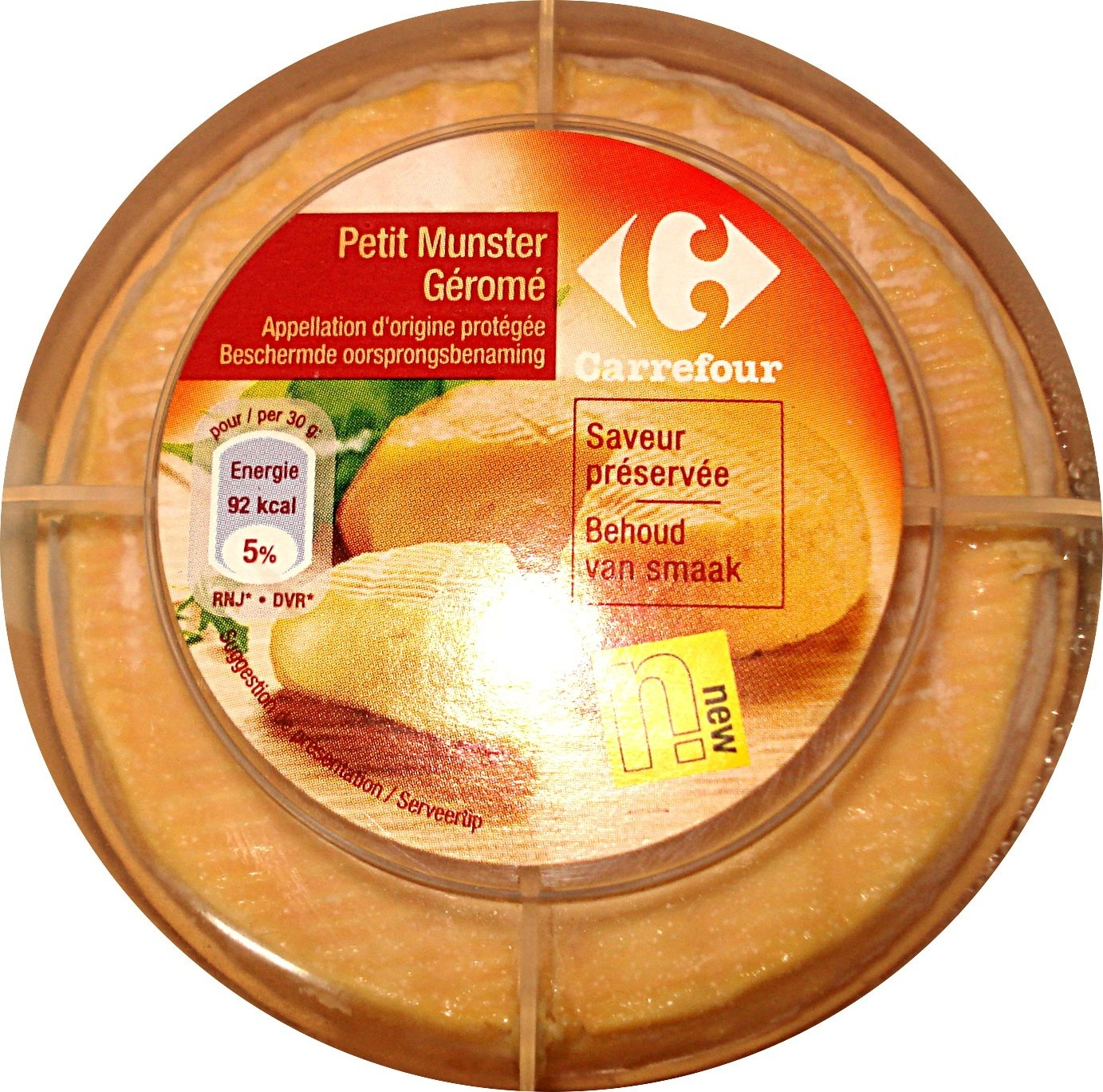 Petit Munster Géromé AOP (24 % MG) - Product - fr