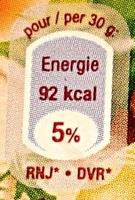 Petit Munster Géromé AOP (24 % MG) - Nutrition facts - fr