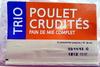 Trio Poulet Crudités - Produit