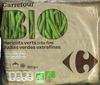 """Judías verdes redondas troceadas congeladas ecológicas """"Carrefour Bio"""""""