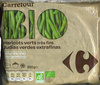 "Judías verdes redondas troceadas congeladas ecológicas ""Carrefour Bio"" - Producto"