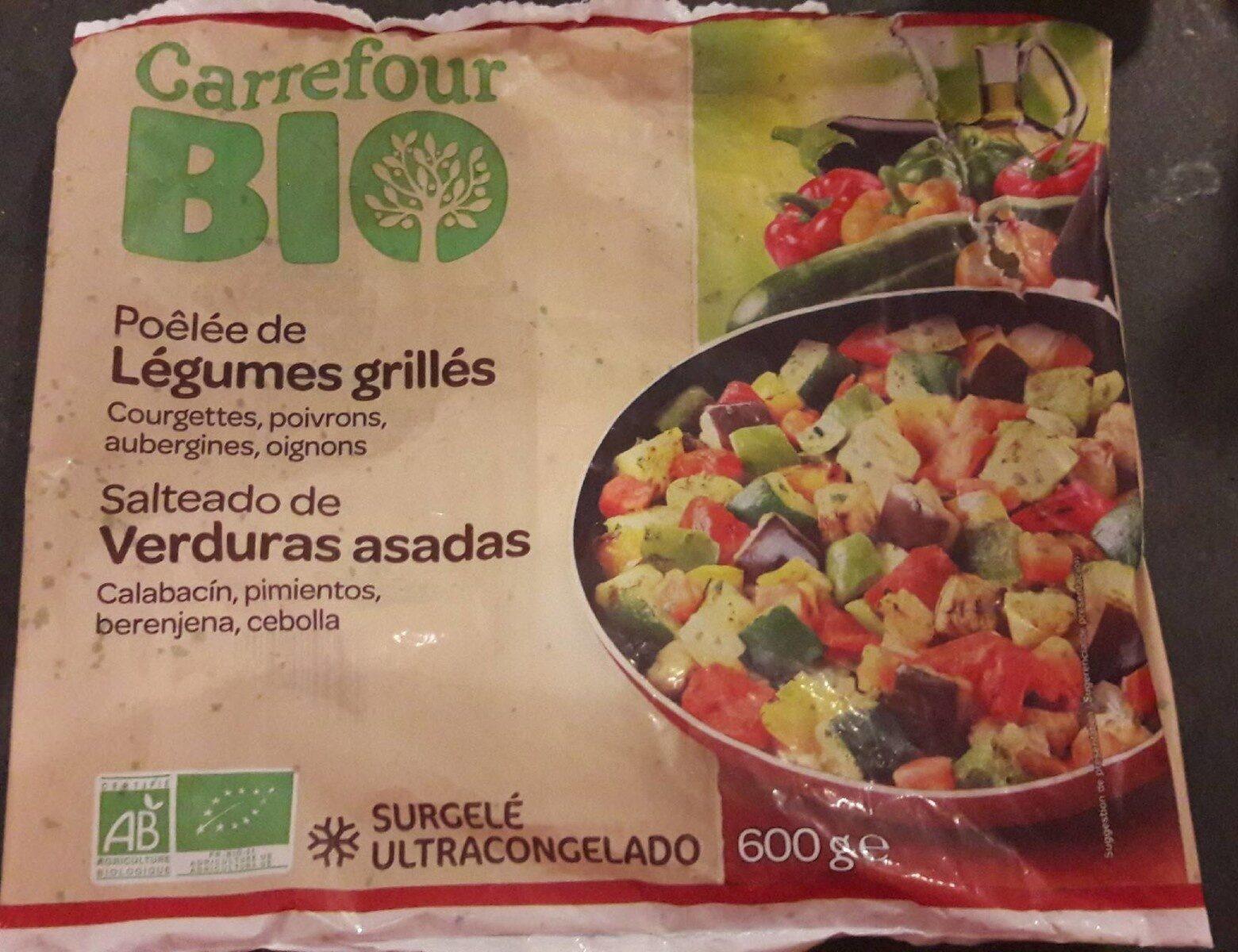 Poêlée de légumes grillés - Producto - fr