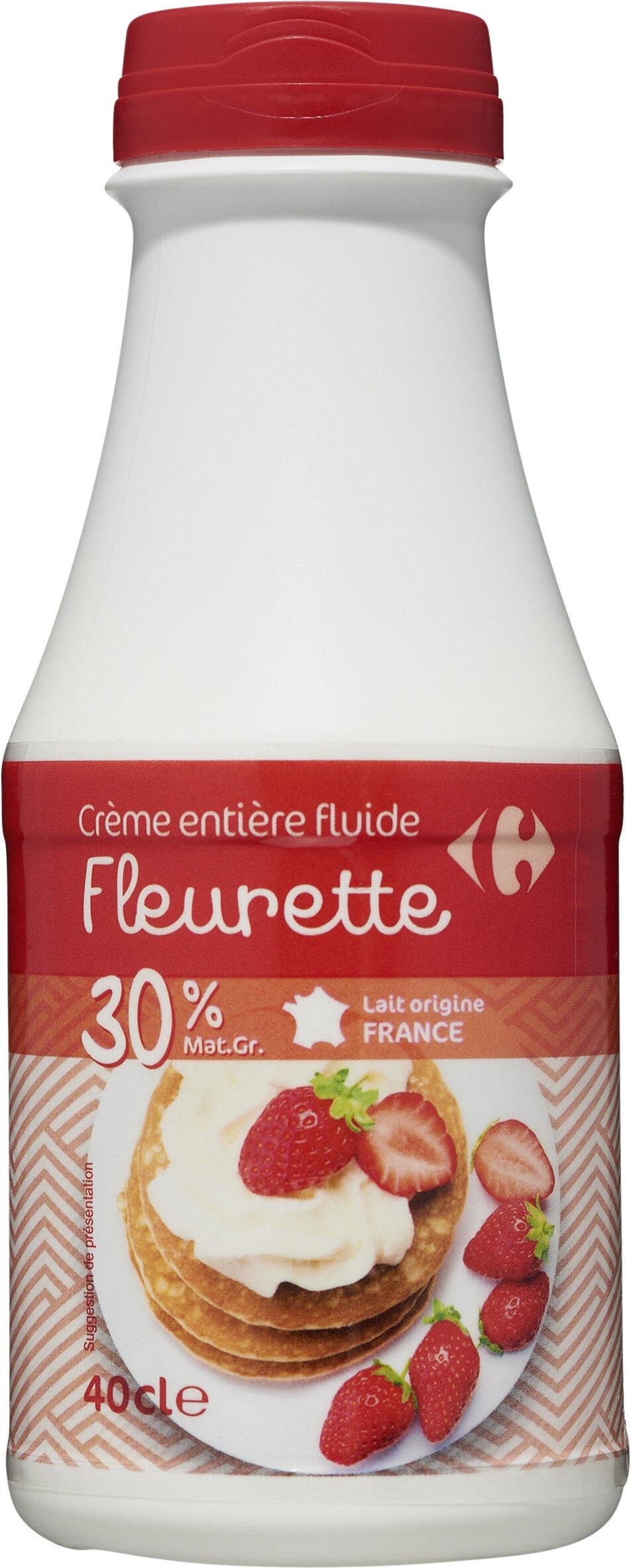 Crème entière fluide Fleurette - Product - fr