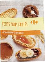 Petits pains grillés - Produit - fr