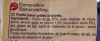 Petits pains grillés - Ingrédients - fr