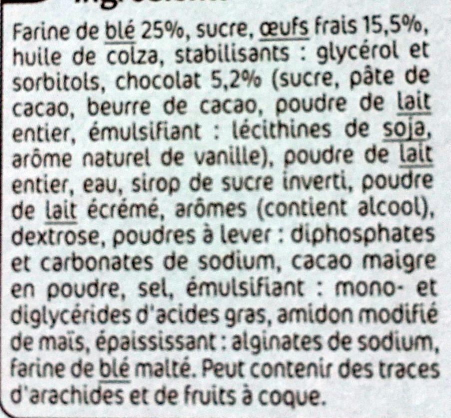 Lapinou - Ingredients