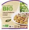 Tofu à l'indienne riz basmati et lentilles - Product