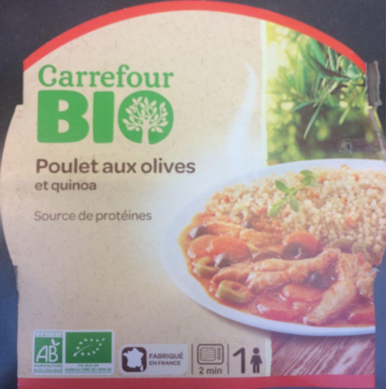 Poulet aux olives et quinoa - Produit - fr