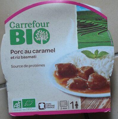 Porc au caramel et riz Basmati Bio - Produit - fr