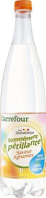 Les aromatisées Intensément pétillante Saveur Agrumes - Product - fr