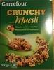 Crunchy Muesli Chocolat au lait et noisettes - Produit