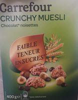 Crunchy Muesli Chocolat* Noisettes - Produit - fr