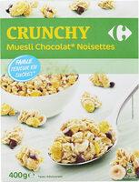 Crunchy Muesli Chocolat* Noisettes - Product - fr