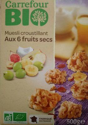 Muesli croustillant aux 6 fruits secs - Product - fr