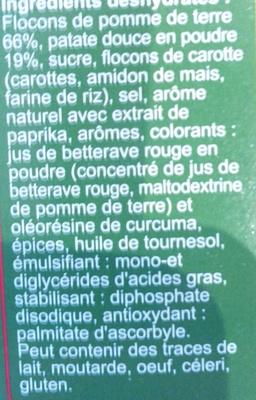 Purée à la patate douce - Ingrédients - fr