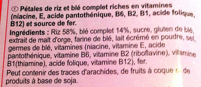 Stylesse Nature - Ingredients - fr
