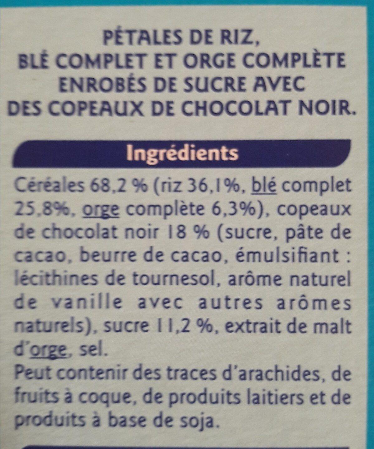 Petales De Riz Ble Complet Chocolat - Ingredients