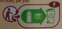 Lait entier Bio Stérilisé UHT - Istruzioni per il riciclaggio e/o informazioni sull'imballaggio - fr