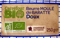 Beurre moulé de Baratte doux - Product