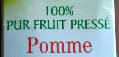 100% Pur fruit pressé Pomme - Ingredienti - fr