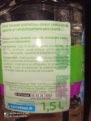 Les aromatisées - Inhaltsstoffe - fr