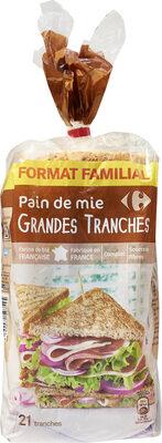 Pain de mie Grandes Tranches - Prodotto - fr