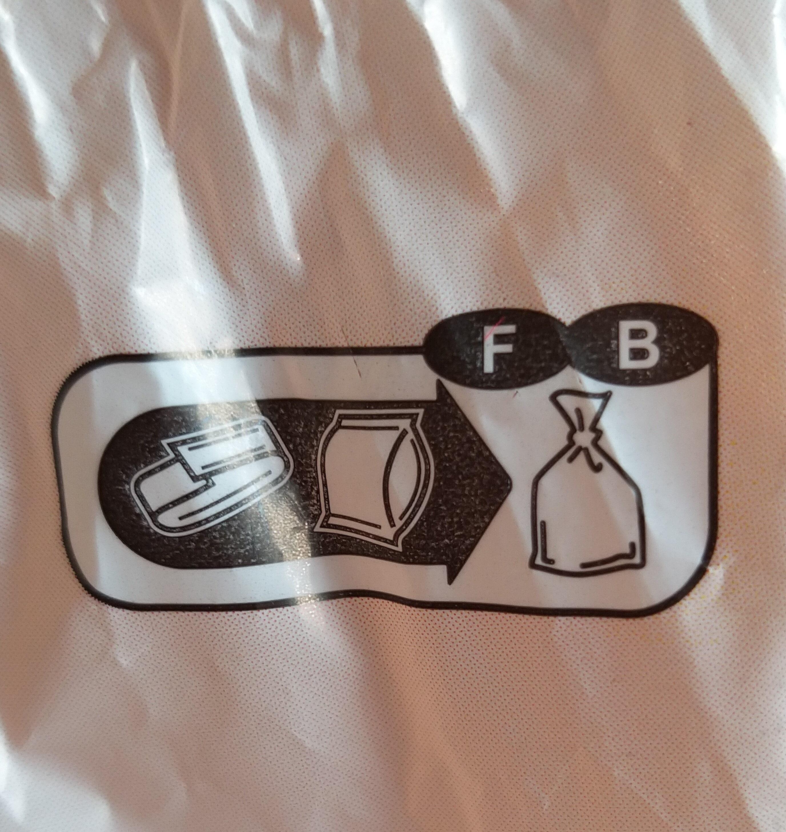 Pain de mie Grandes Tranches - Istruzioni per il riciclaggio e/o informazioni sull'imballaggio - fr