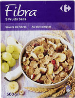 Fibra 5 Frutas y Frutos Secos - Producte