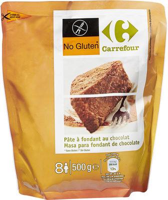 Fondant au chocolat sans gluten - Product