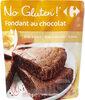 Fondant au chocolat sans gluten - Produit
