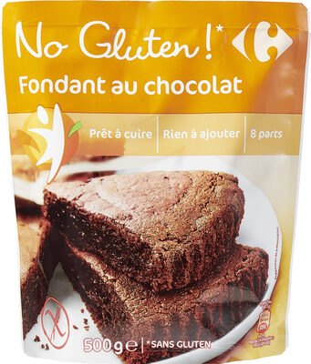 Fondant au chocolat sans gluten - Product - fr